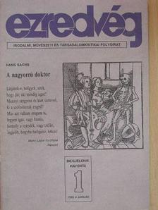Alföldy Jenő - Ezredvég 1992. január [antikvár]