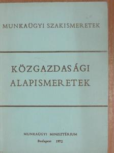 Dr. Antal István - Közgazdasági alapismeretek [antikvár]