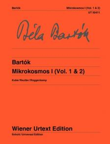 Bartók Béla - MIKROKOSMOS I (VOL. 1 & 2) KUBE / REUTTER / ROGGENKAMP