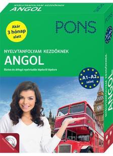 PONS Nyelvtanfolyam kezdőknek - Angol (könyv+CD)