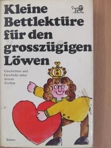 Brian Cleeve - Kleine Bettlektüre für den großzügigen Löwen [antikvár]