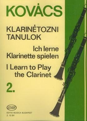 KOVÁCS BÉLA, - KLARINÉTOZNI TANULOK 2.