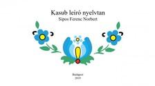 Norbert Sipos Ferenc - Kasub nyelvtan [eKönyv: epub, mobi]