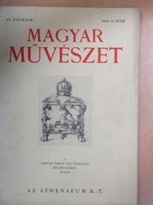Csók István - Magyar Művészet 1933/9. [antikvár]