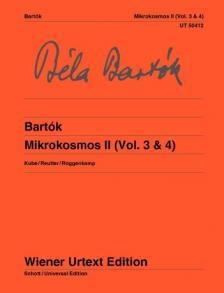 Bartók Béla - MIKROKOSMOS II (VOL. 3 & 4) KUBE / REUTTER / ROGGENKAMP