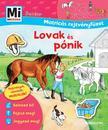 Mi MICSODA Junior - Matricás rejtvényfüzet Lovak és pónik