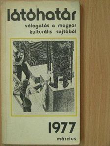 Breuer János - Látóhatár 1977. március [antikvár]