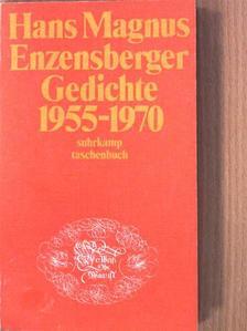 Hans Magnus Enzensberger - Gedichte 1955-1970 [antikvár]