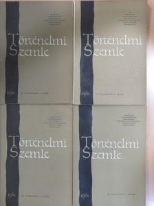 Baksay Zoltán - Történelmi Szemle 1961/1-4. [antikvár]