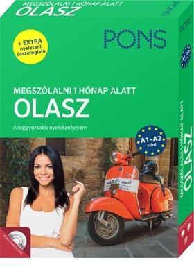 PONS Megszólalni 1 hónap alatt - Olasz (könyv + CD)