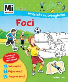 Mi MICSODA Junior Matricás rejtvényfüzet - Foci