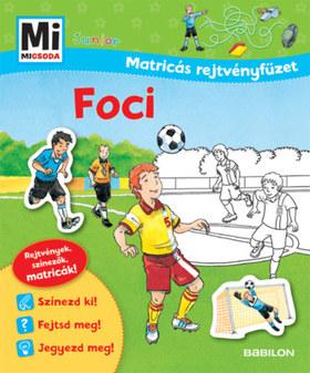 Mi MICSODA Junior - Matricás rejtvényfüzet - Foci