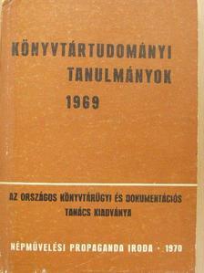 Arató Attila - Könyvtártudományi tanulmányok 1969 [antikvár]