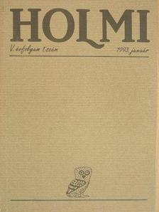Bálint Tibor - Holmi 1993. január-december [antikvár]