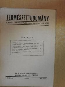Andreánszky Gábor - Természettudomány 1947. július [antikvár]