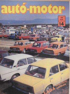 Fekete Kálmán - Autó-Motor 1980. július [antikvár]
