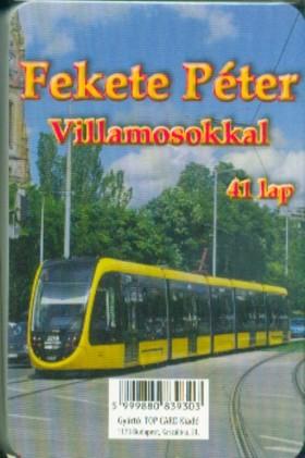 Fekete Péter villamosokkal kártya (41 lap)