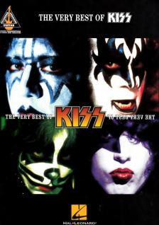 THE VERY BEST OF KISS - RECORDED VERSION FOR GUITAR