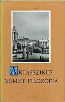 SÁNDOR PÁL - A klasszikus német filozófia [antikvár]