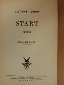 Matolcsy Andor - Start [antikvár]