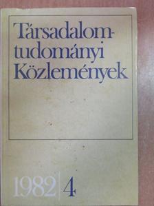 Ancsel Éva - Társadalomtudományi Közlemények 1982/4. [antikvár]