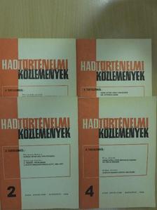Erős Ferenc - Hadtörténelmi Közlemények 1988/1-4. [antikvár]
