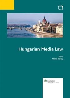 Koltay András - Hungarian Media Law [eKönyv: epub, mobi]