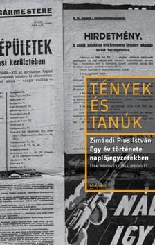 Zimándi Pius István - Egy év története naplójegyzetekben [eKönyv: epub, mobi]