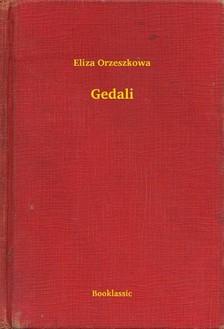 Orzeszkowa Eliza - Gedali [eKönyv: epub, mobi]