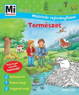 Mi MICSODA Junior - Matricás rejtvényfüzet Természet