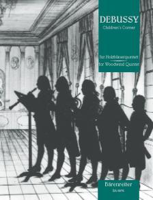 DEBUSSY - CHILDREN'S CORNER FÜR HOLZBLAESERQUINTETT (JOACHIM LINCKELMANN)