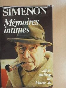 Georges Simenon - Mémoires intimes [antikvár]