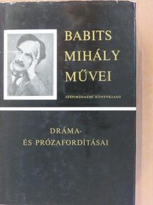Edgar Allan Poe - Babits Mihály dráma- és prózafordításai [antikvár]