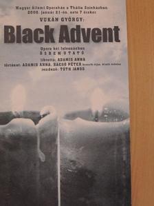 Adamis Anna - Vukán György: Black Advent [antikvár]