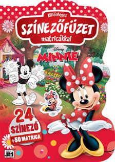 Disney - Különleges színezőfüzet matricákkal: Minnie