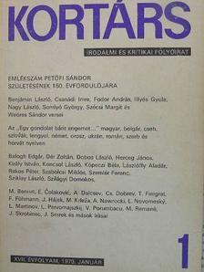 Alföldy Jenő - Kortárs 1973. (nem teljes évfolyam) [antikvár]