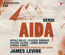 Verdi - AIDA 3CD LEVINE, MILLO, DOMINGO, ZAJICK, MORRIS, RAMEY