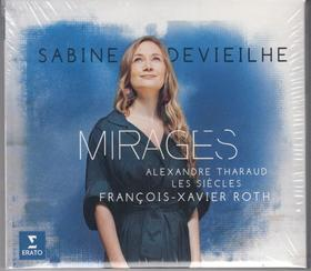 DEBUSSY, BERLIOZ, DELIBES... - MIRAGES CD SABINE DEVIEILHE