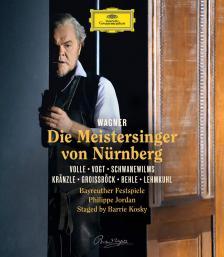 Wagner - DIE MEISTERSINGER VON NÜRNBERG BLU-RAY PHILIPPE JORDAN
