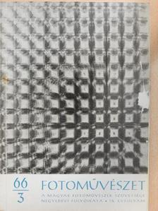 Albert István - Fotoművészet 1966/3. [antikvár]