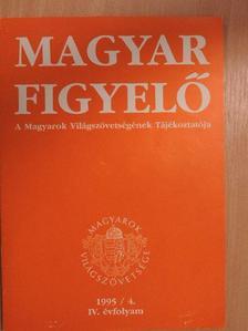 Borbély Imre - Magyar Figyelő 1995. április [antikvár]