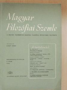 A. F. Siskin - Magyar Filozófiai Szemle 1965/3. [antikvár]