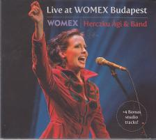 LIVE AT WOMEX BUDAPEST CD HERCZKU ÁGI & BAND