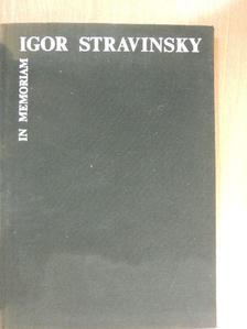 Bárdos Lajos - In Memoriam Igor Stravinsky [antikvár]