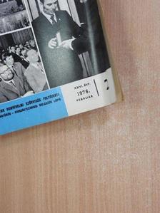 Bassó Andor - Rádiótechnika 1976. február [antikvár]