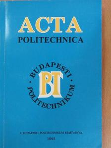 Dr. Farkas Tivadar - Acta Politechnika [antikvár]