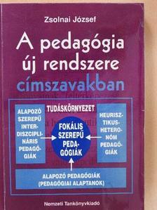 Zsolnai József - A pedagógia új rendszere címszavakban [antikvár]
