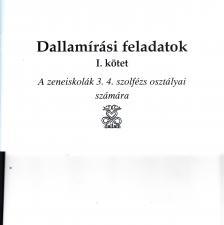 DALLAMÍRÁSI FELADATOK I.