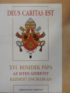 XVI. Benedek pápa - XVI. Benedek pápa Az Isten szeretet kezdetű enciklikája [antikvár]
