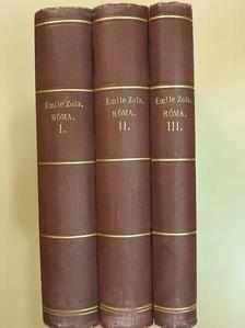 Émile Zola - Róma I-III. [antikvár]